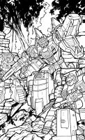 Doublecross IDW Cover Contest by timshinn73