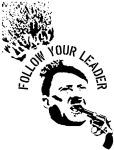follow your leader stencil by killingspr