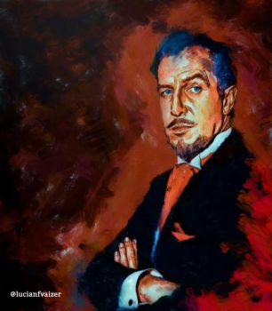 Vincent Price by LucianFVaizer