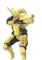 Tau Fire Warrior by dukeleto