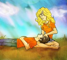 Percabeth by blindbandit5
