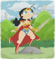Princess of Themyscira by tyrannus