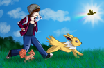 PokemonGo-ing on an adventure! by dont-know-how-to-art