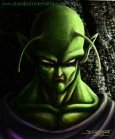 Piccolo from Dragonball by AtomiccircuS