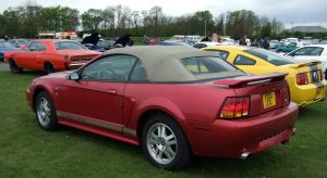 mustang group , at DUXFORD , spring car show 2 by Sceptre63