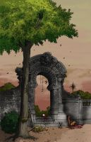 The Arch Completed by sadwonderland