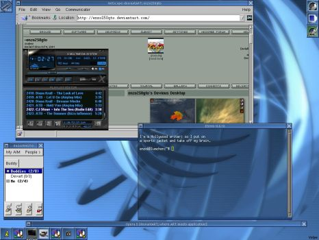 Devart on Linux Slackware by enzo250gto
