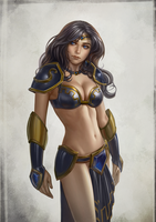 Old skin Sivir by gooloo0-o