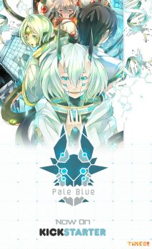 Pale Blue now on Kickstarter by sinlaire