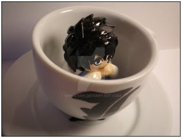 L Figure With Teacup by Miina-san