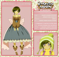 Blossom Town - Harvest Goddess by Betachan