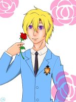 Tamaki Suoh by handcuffs4ever