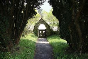 Church Entrance2 by NickiStock