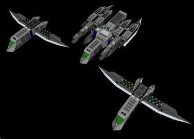 Lotus MF - Mod R4 with Drone Fighters by Greylord-Daemos