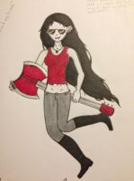 Marceline the Vampire Queen by ScenePika