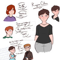 Regina Collins Quick Ref by robustdraws