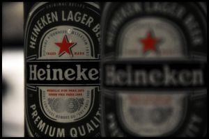 heineken beer bottle by jordansart