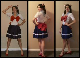 Quick Cosplay: Sailor Moon by Durnesque