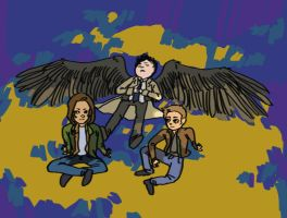 Team Free Will by rjpaints