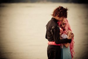 Kira and Lacus by Acedemond