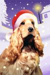 arthur chrismas dog by Erymanthe