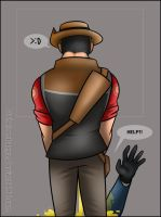 TF2 - What He Doing by RatchetMario