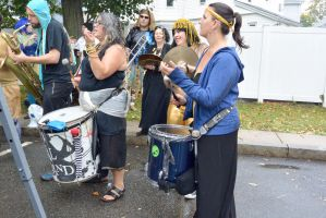 14 Honk Festival,Lots of Music In the Parking Lot6 by Miss-Tbones