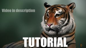 Tiger Painting Tutorial by fusobotic