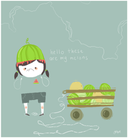 Hello These Are My Melons by liljeska