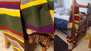 Fourth Doctor Scarf - Version 2 by MystSaphyr