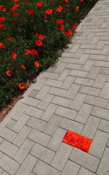 Land Art - Red Brick 02 by McMuth