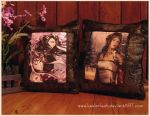 Print Pillows :Commissions OPEN: by keelerleah