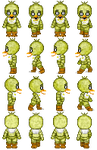 Chica sprite sheet by Lagoon-Sadnes