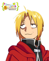 Edward Elric Render by debbiichan