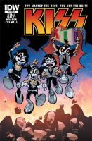 KissKIDS DestroyerCover by johjames