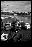 Port Erin boats by Gilly71