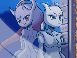 Top 5 Mewtwo #4 by DYW14