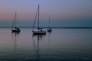 Sailboats 3 by Doumanis