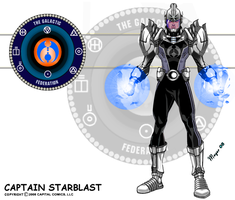 Captain Starblast, S.H. Powers by skywarp-2