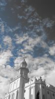 LDS Temple by nundry