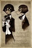 The Pianist by CanisAlbus