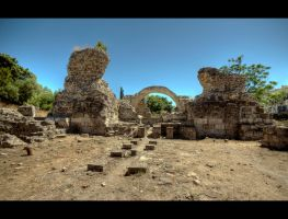 Ancient Gymnasium by Beezqp
