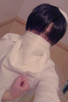 SnK: Levi cleaning cosplay 2 by themuffinshota