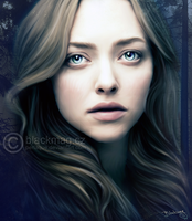 Amanda Seyfried PAINTING by perlaque