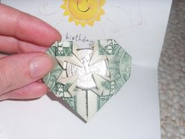 Give Money Origami style by InIt2Rock