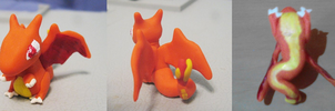 Charizard Chibi Sculpture by CharredPinappleTart