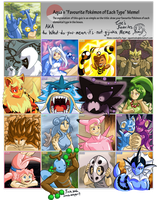 LET ME SHOW YOU MY POKEMANS by ceylon-tae