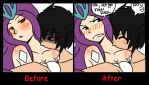 Before and After by Sapphire-Tora