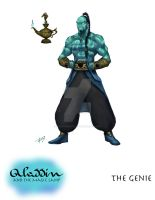 Aladdin: The Genie of the Lamp by effektdmentality