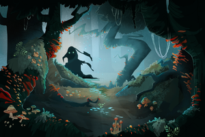 Haunted Forest by Megnarr